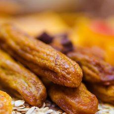 Бананы вяленые