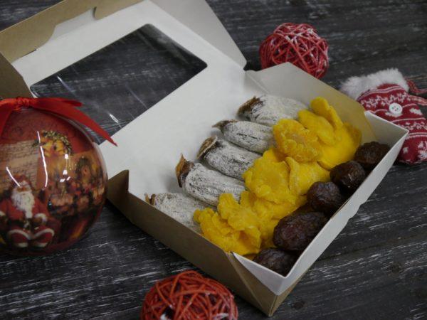 Подарочный набор сухофрукты мини